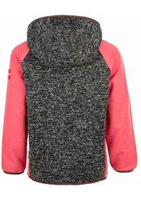 ZIGZAG - THAMOS - Fleece jacket - dark grey melange - 1