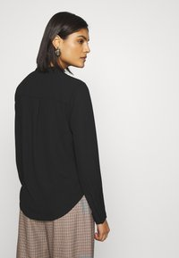 Selected Femme - SLFDYLANA - Button-down blouse - black - 2