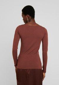 Anna Field - Long sleeved top - fudgesickle - 2