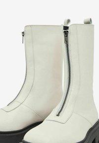 Bianco - BIADANIELLE - Platform boots - offwhite - 5