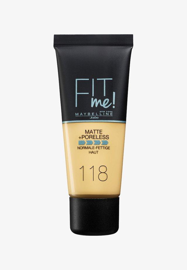 FIT ME MATTE & PORELESS MAKE-UP - Foundation - 118 light beige