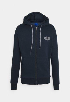 JORPRESTON ZIP HOOD - Zip-up hoodie - navy blazer
