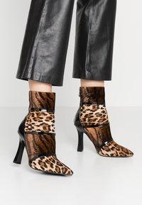 BEBO - LAVETA - High heeled ankle boots - black - 0
