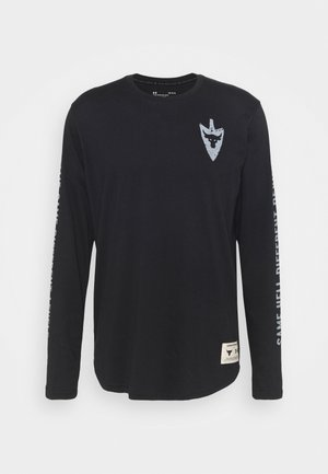 PROJECT ROCK SAME GAME - Longsleeve - black