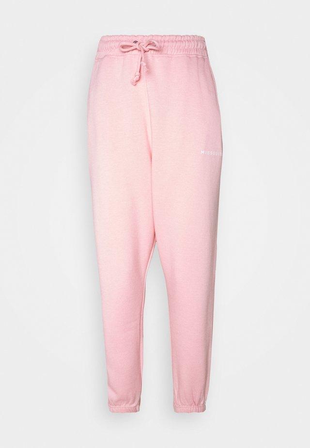 OVERSIZED JOGGER - Træningsbukser - pink