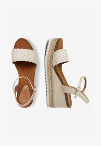 Next - Platform sandals - off-white - 1