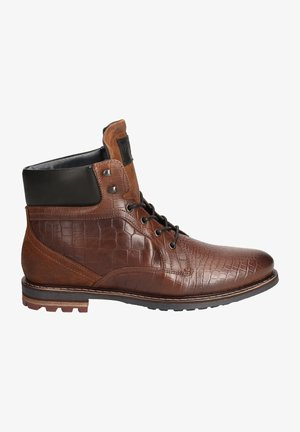 TROOPER  - Lace-up ankle boots - braun