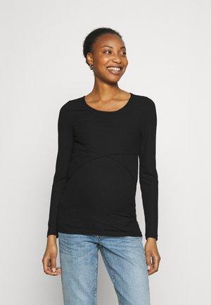MLCARMA JUNE - Bluzka z długim rękawem - black