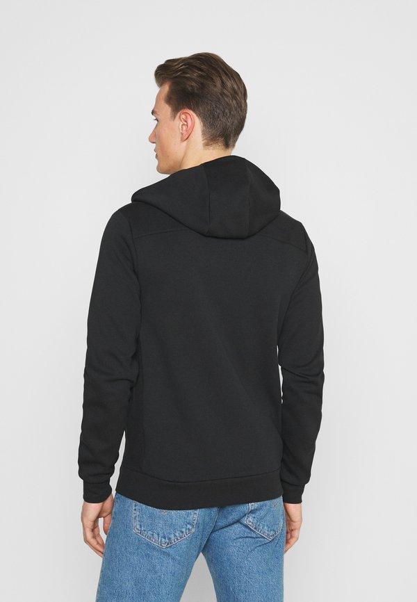 Tommy Hilfiger MODERN ESSENTIALS ZIP THRU HOODY - Bluza rozpinana - black/czarny Odzież Męska UAHM