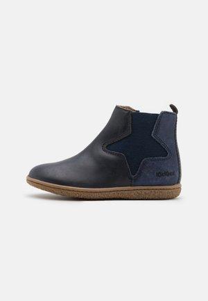 VERMILLON - Classic ankle boots - marine metallise