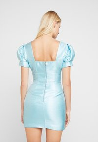 Mossman - THE SIREN MINI DRESS - Sukienka koktajlowa - powder blue - 2