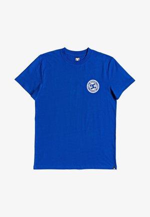 CIRCLE STAR - Print T-shirt - nautical blue/ snow white