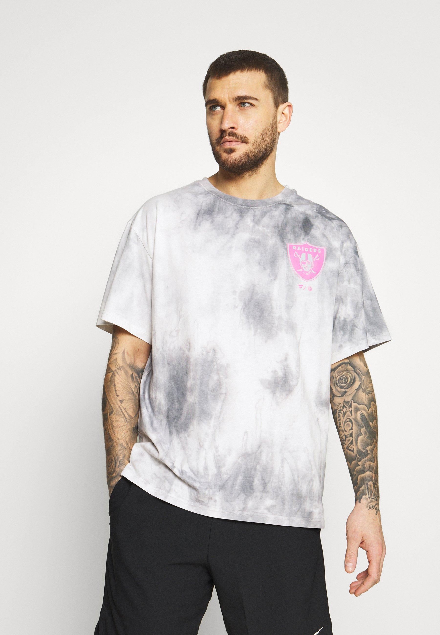 Men LAS VEGAS RAIDERS TIE DYE GRAPHIC - Print T-shirt