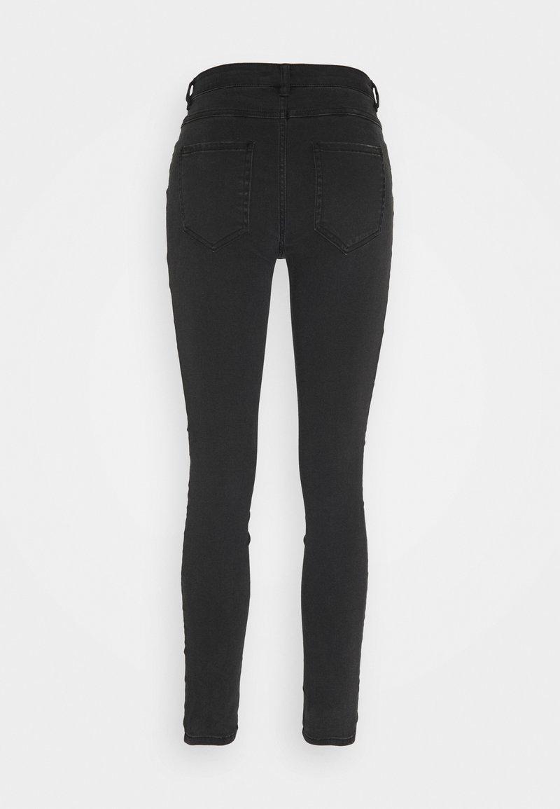 JDY JDYCLAUDIA STRETCH - Jeans Skinny Fit - black denim/schwarz qZofOq