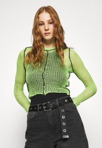 The Ragged Priest - LIME SHEER BLACK SEAMS - Jumper - lime - 3