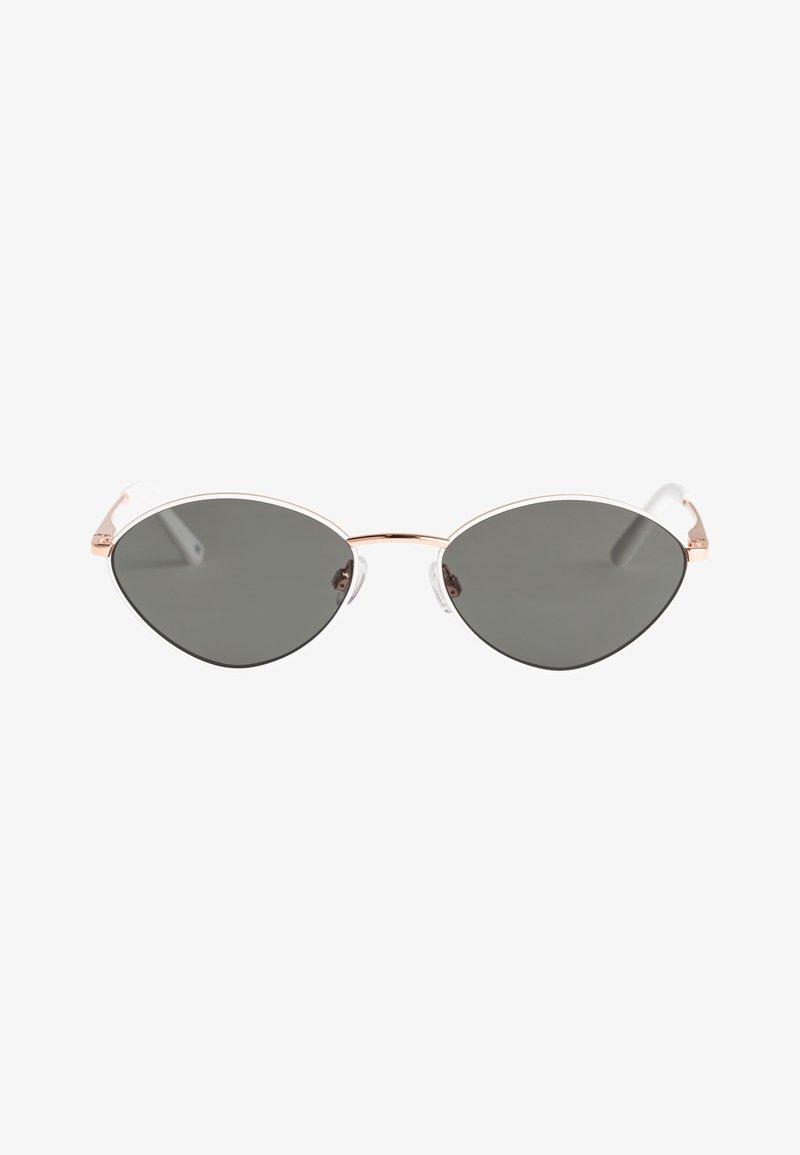 Roxy - MARIGOLD - Sunglasses - shiny rosegold-white/grey