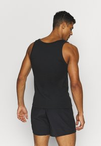 Pier One - 3 PACK - Undershirt - black - 3