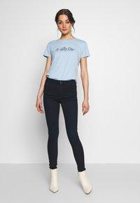 G-Star - LHANA HIGH SUPER SKINNY - Jeans Skinny Fit - worn in midnight - 1