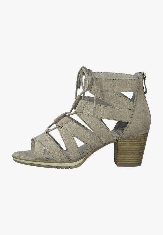 Sandals - lt. taupe