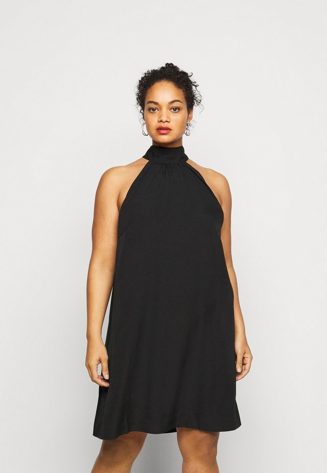 VMJASIKA SHORT DRESS - Day dress - black