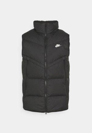 WINDRUNNER VEST - Waistcoat - black