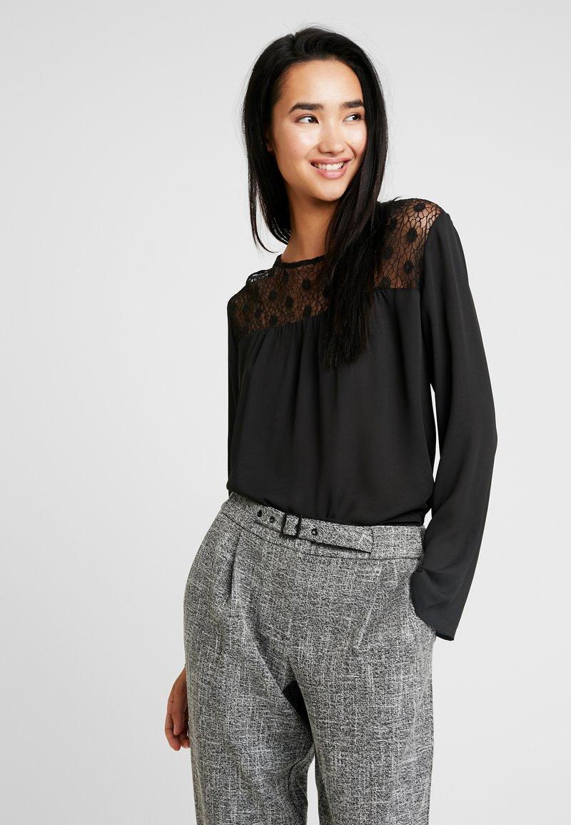 ONLY - ONLLOUISEPINAR - Bluse - black