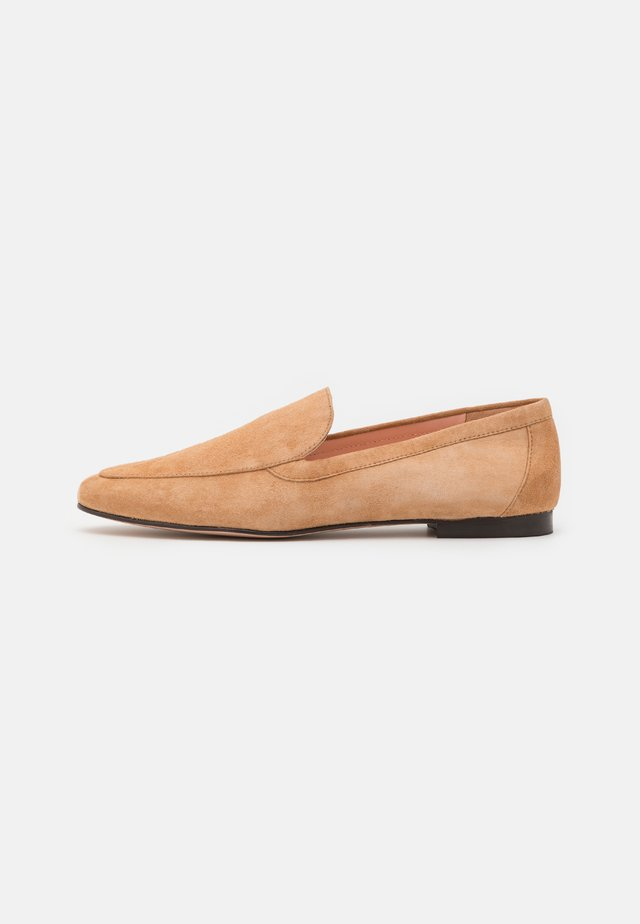 Slipper - ashen brown