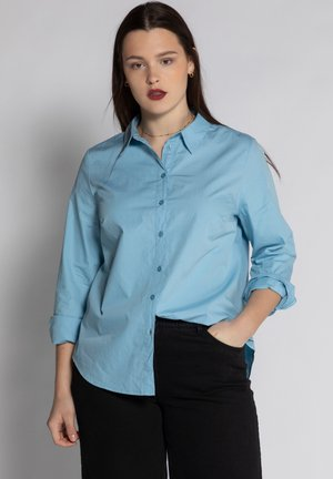 Button-down blouse - duifblauw