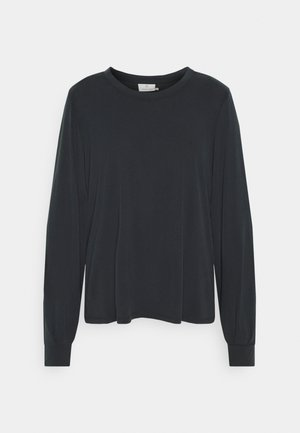 KACHIANA - Long sleeved top - washed black deep