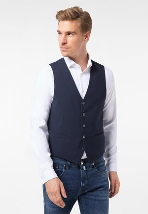 Suit waistcoat - moon blue