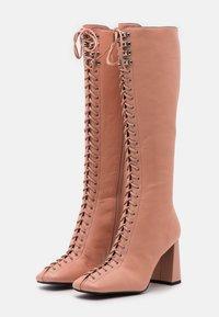 Jeffrey Campbell - PATTI - Lace-up boots - deep pink - 2