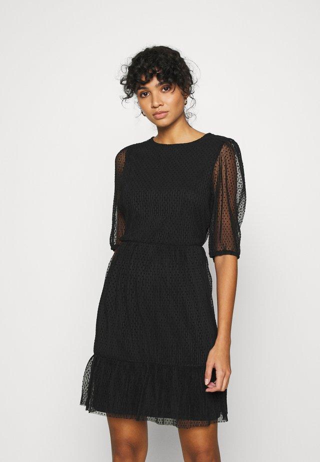 ONLETTA 3/4 PUFF DRESS  - Kjole - black
