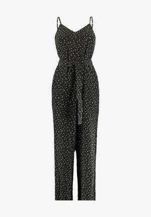 Jumpsuit - black/white