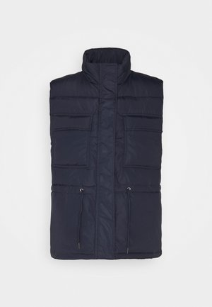 MOLANA - Veste sans manches - navy blazer