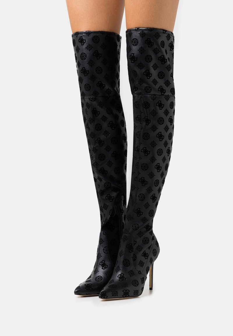 Guess - BAIWA - Over-the-knee boots - black