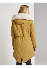 TOM TAILOR DENIM - Parka - indian spice yellow - 2