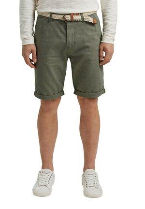 FASHION  - Shorts - dusty green