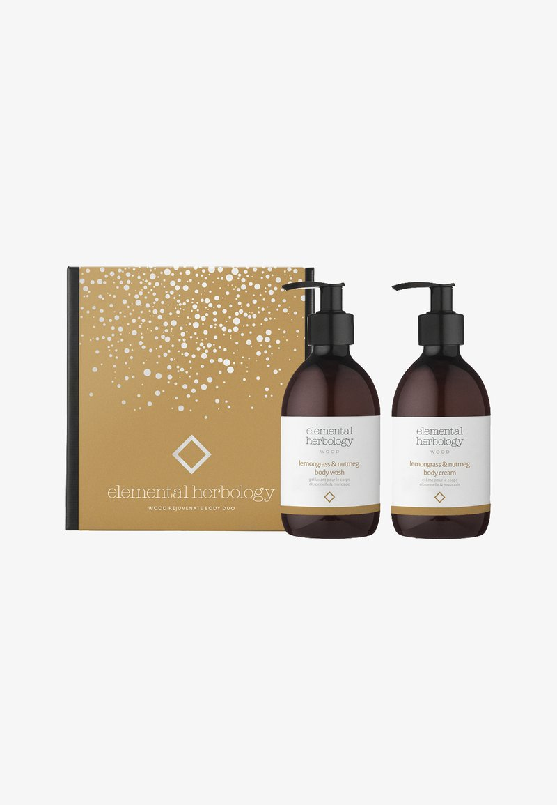 Elemental Herbology - WOOD REJUVENATE BODY DUO - Bath and body set - -