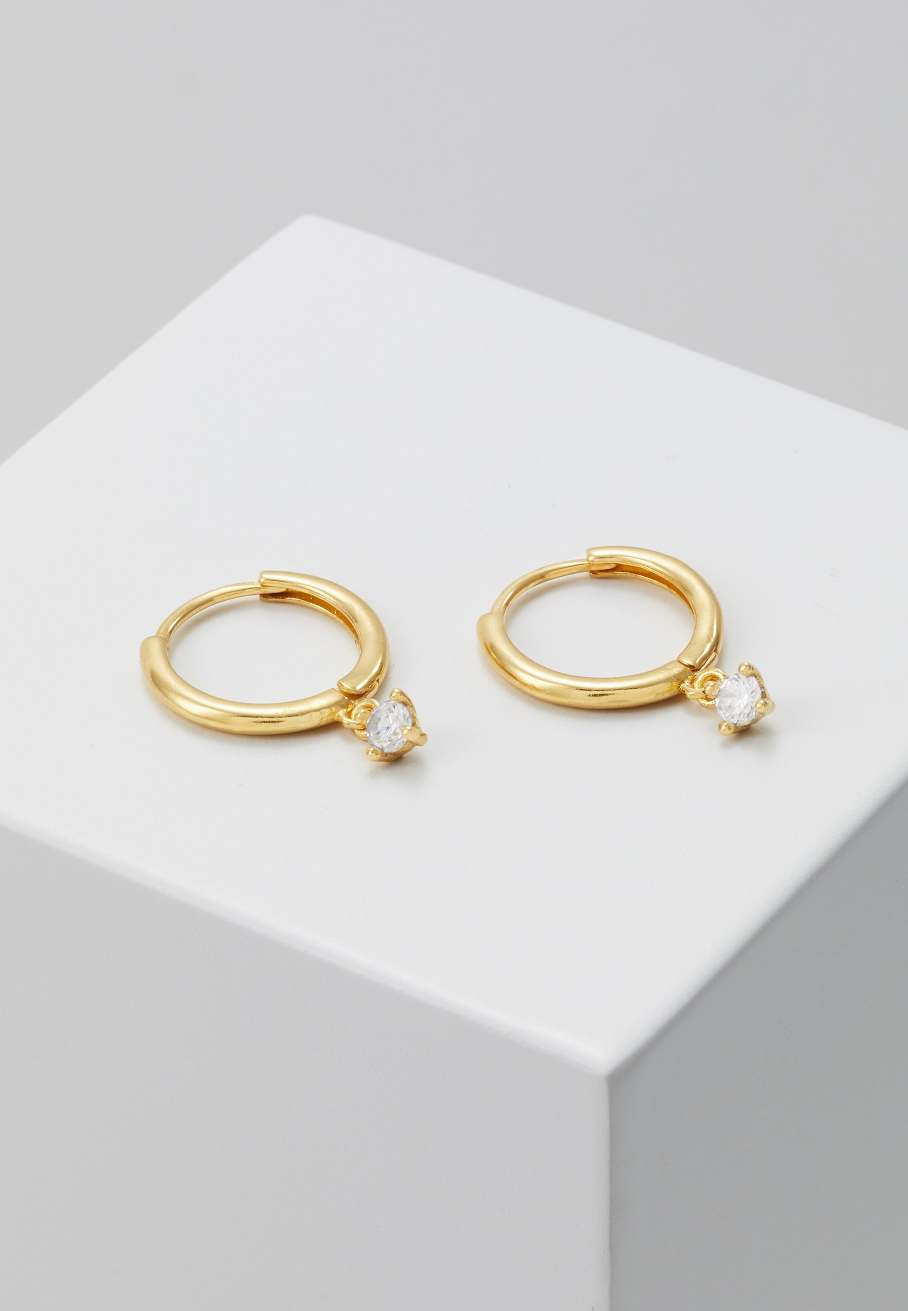 Classic Fast Delivery Accessories Astrid & Miyu MYSTIC DROP GEM HOOPS Earrings gold-coloured b5RYpgoit HUvYr0svO