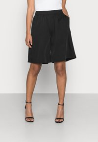 Pieces Petite - PCTEIGEN SHORTS - Shorts - black - 0