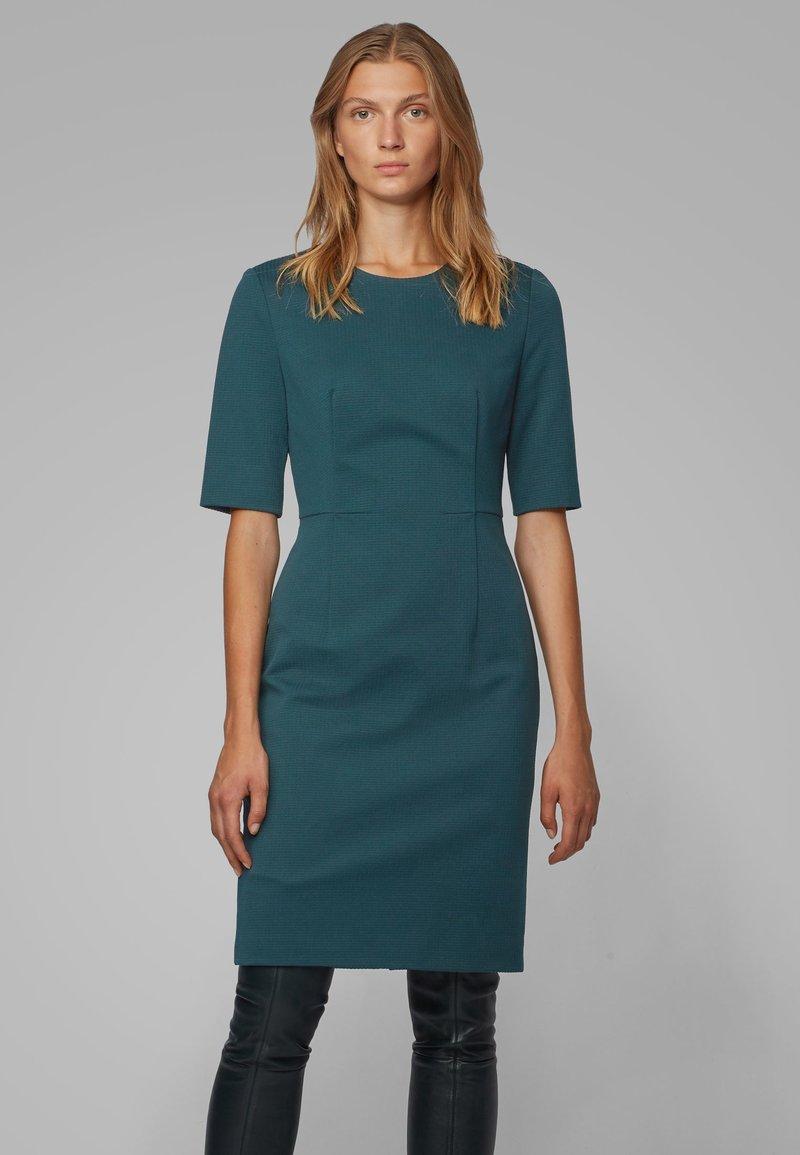 BOSS - DAXINE - Shift dress - dark green