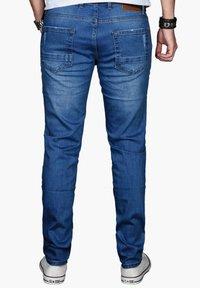 Alessandro Salvarini - Slim fit jeans - blau - 1