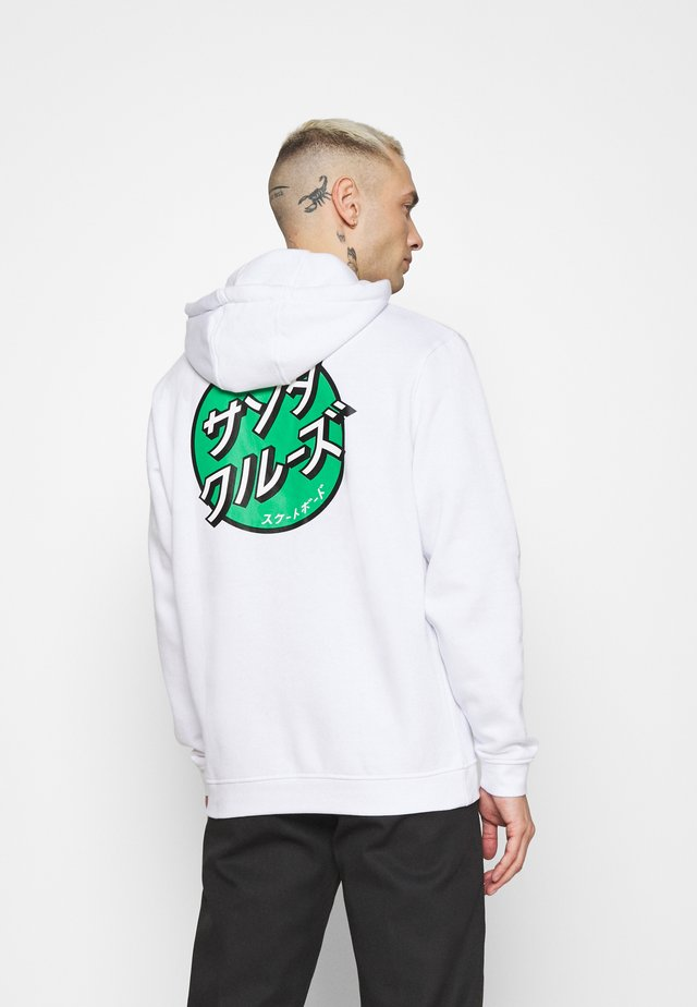 OTHER JAPANESE DOT HOODIE UNISEX - Sweatshirt - white