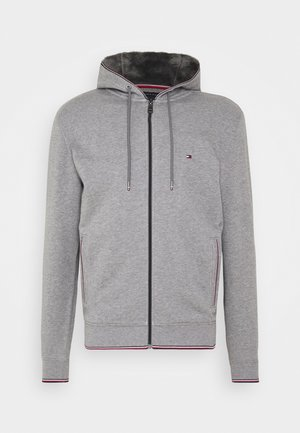 BASIC HOODY - Zip-up hoodie - grey