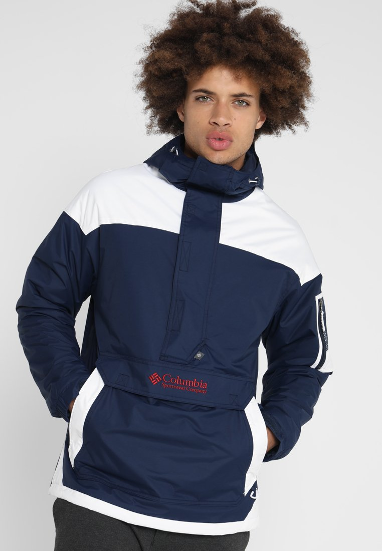 Columbia - CHALLENGER - Windbreaker - collegiate navy/white