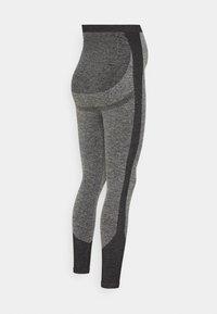 LOVE2WAIT - SEAMLESS - Leggings - Trousers - grey - 1