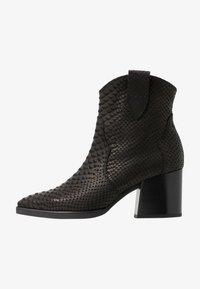 CHARLET - Kovbojské/motorkářské boty - schwarz tomas