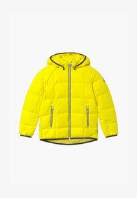 Reima - JORD UNISEX - Down jacket - lemon yellow - 0