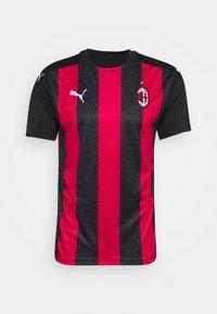 Puma - AC MAILAND HOME REPLICA - Club wear - tango red/black - 3