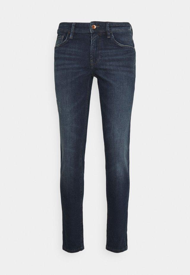 CULVER - Jeans Skinny Fit - dark stone blue denim
